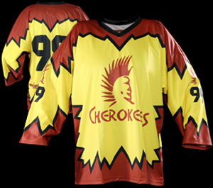 BOX LACROSSE JERSEYS