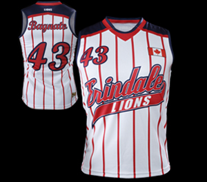 RACERBACKS SOFTBALL JERSEYS